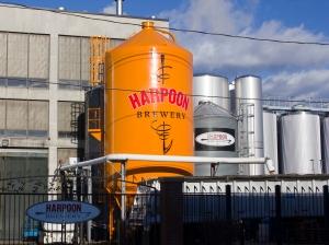 Grain Silo at the Harpoon Brewery in Boston, MA